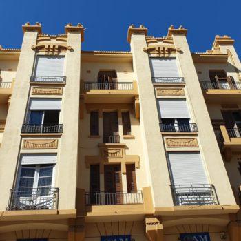 Edificio Iberia. Fachada a Cándido Lobera