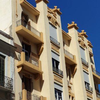 Edificio Iberia. Fachada a Cándido Lobera. 02