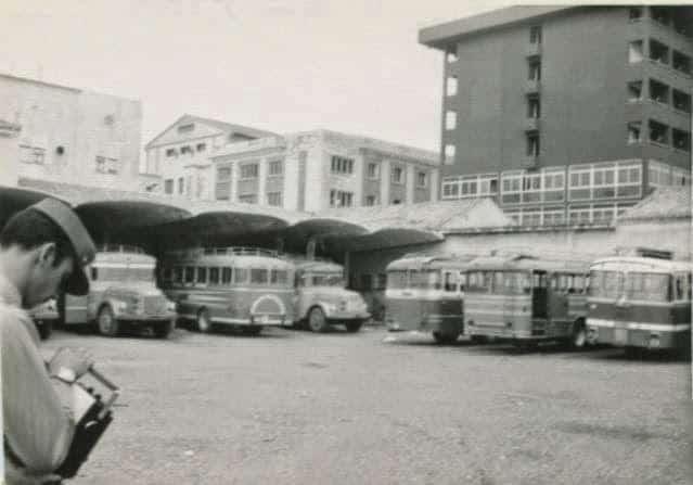 Estación de autobuses. Escudería de Melilla