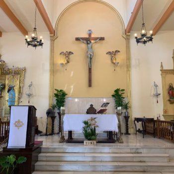 Parroquia de la Medalla Milagrosa. Altar 01. Fotografía de Luis Legido