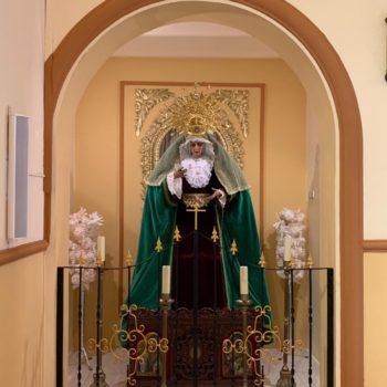 Parroquia de la Medalla Milagrosa. Virgen de la Esperanza. Fotografía de Luis Legido