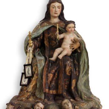 Virgen del Carmen. Fotografía de Miguel Gómez Bernardi.