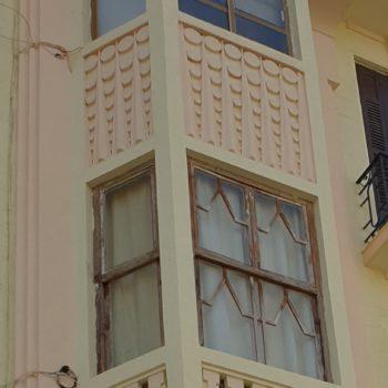 Calle Chacel, Detalle fachada 01