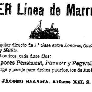 Power Línea de Marruecos 1913
