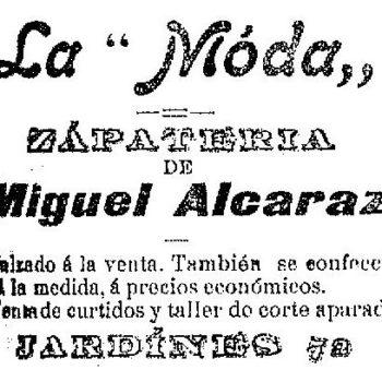Zapateria La Moda 1904