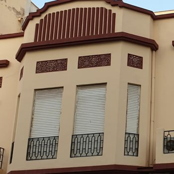 Edificio calle Justo Sancho Miñano. Mirador