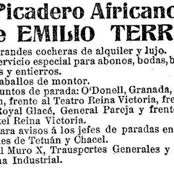 Picadero Emilio Terre 1913