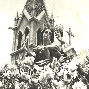 Virgen de la Victoria el día de la Coronación AGML