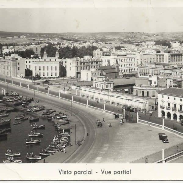Avda General Macías, entrada al puerto de Melilla