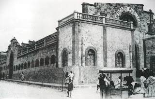 Mercado del Polígono (1925). Estampas Melillenses blogspost
