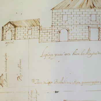 Plano de Pedro de Heredia 1604. Archivo General de Simancas